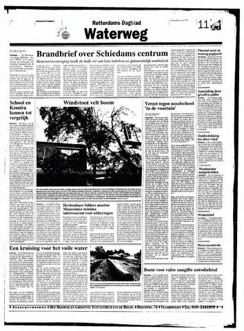 Rotterdamsch Nieuwsblad / Schiedamsche Courant / Rotterdams Dagblad / Waterweg / Algemeen Dagblad 1998-06-11