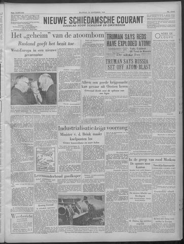 Nieuwe Schiedamsche Courant 1949-09-26