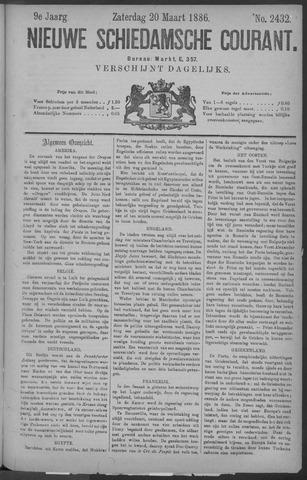 Nieuwe Schiedamsche Courant 1886-03-20