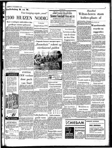 Rotterdamsch Parool / De Schiedammer 1963-11-05