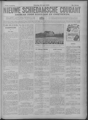 Nieuwe Schiedamsche Courant 1929-04-20