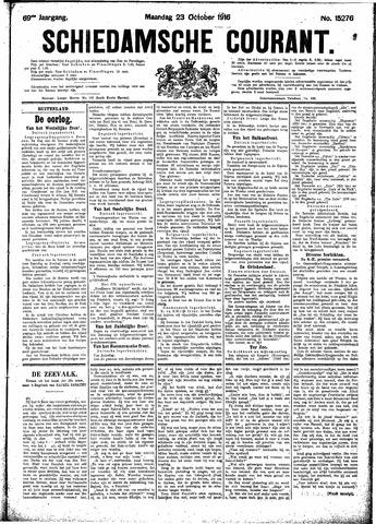 Schiedamsche Courant 1916-10-23
