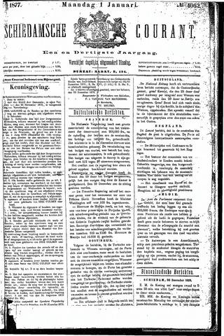 Schiedamsche Courant 1877-01-01