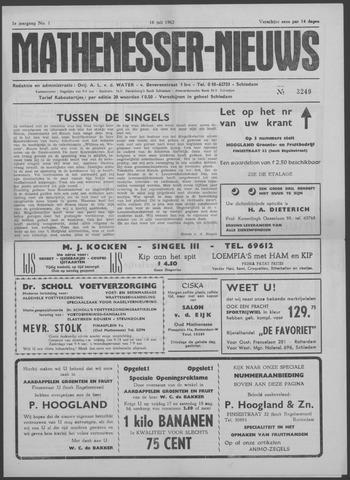 Mathenesser Nieuws 1962