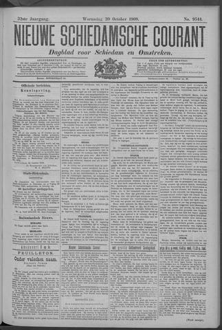 Nieuwe Schiedamsche Courant 1909-10-20