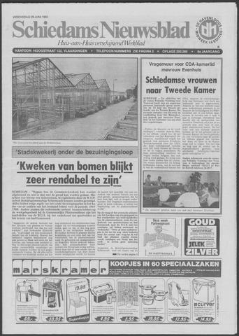 Schiedams Nieuwsblad 1983-06-29