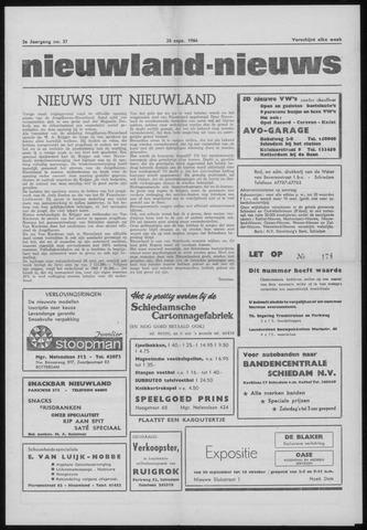 Nieuwland Nieuws 1964-09-24