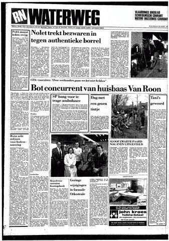 Rotterdamsch Nieuwsblad / Schiedamsche Courant / Rotterdams Dagblad / Waterweg / Algemeen Dagblad 1987-03-26