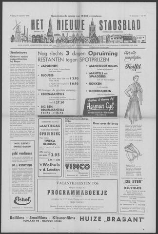 Het Nieuwe Stadsblad 1956-08-10