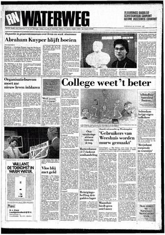 Rotterdamsch Nieuwsblad / Schiedamsche Courant / Rotterdams Dagblad / Waterweg / Algemeen Dagblad 1987-10-28