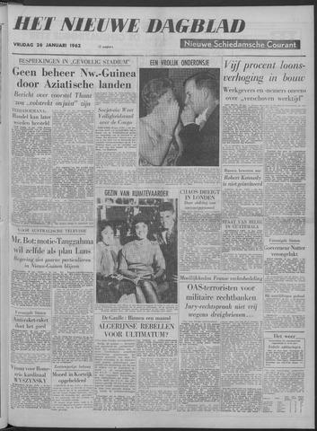 Nieuwe Schiedamsche Courant 1962-01-26