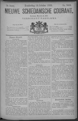 Nieuwe Schiedamsche Courant 1886-10-14