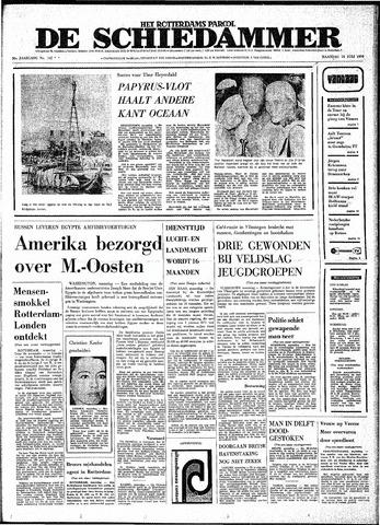 Rotterdamsch Parool / De Schiedammer 1970-07-13