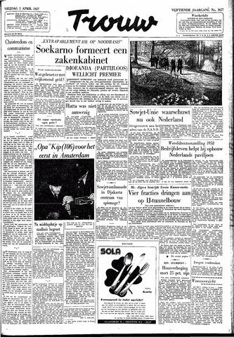 Trouw / De Rotterdammer 1957-04-05