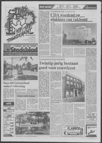 Het Nieuwe Stadsblad 1989-08-04