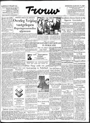 Trouw / De Rotterdammer 1955-03-19