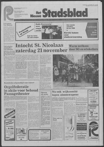 Het Nieuwe Stadsblad 1981-11-11