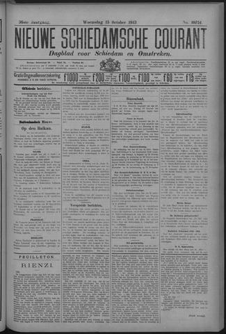Nieuwe Schiedamsche Courant 1913-10-15