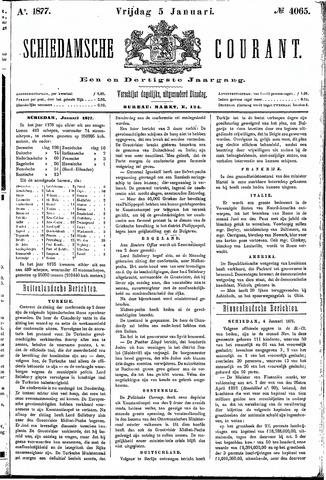 Schiedamsche Courant 1877-01-05