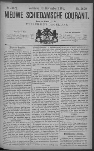 Nieuwe Schiedamsche Courant 1886-11-13