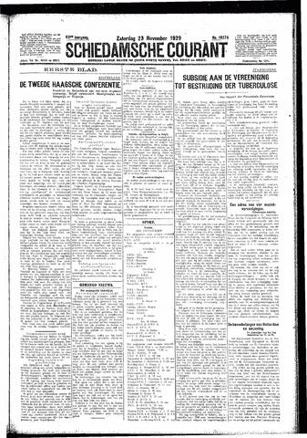 Schiedamsche Courant 1929-11-23