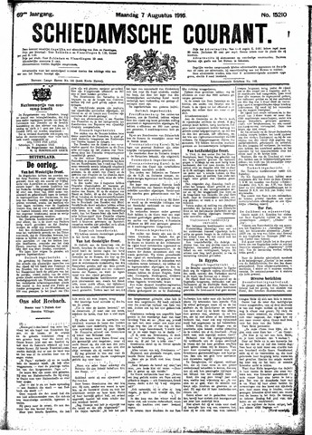 Schiedamsche Courant 1916-08-07