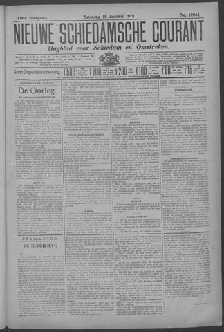 Nieuwe Schiedamsche Courant 1918-01-19