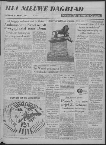Nieuwe Schiedamsche Courant 1962-03-10