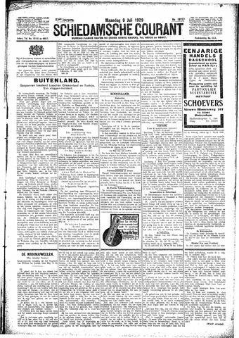 Schiedamsche Courant 1929-07-08