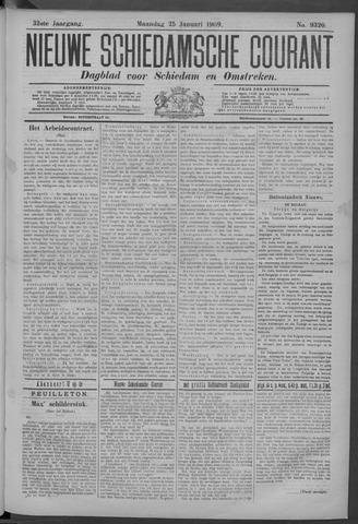 Nieuwe Schiedamsche Courant 1909-01-25