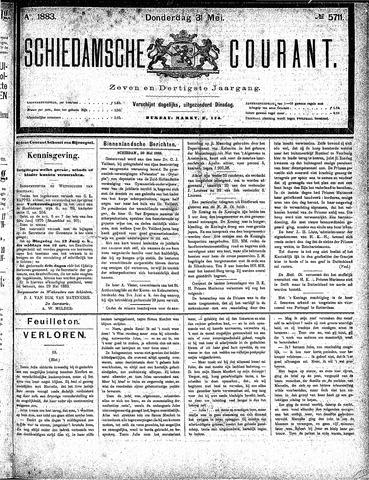 Schiedamsche Courant 1883-05-31