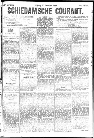 Schiedamsche Courant 1908-10-30