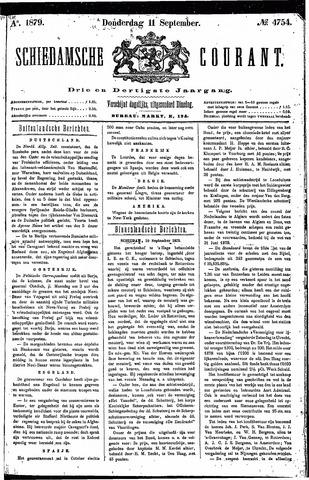 Schiedamsche Courant 1879-09-11