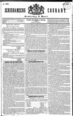Schiedamsche Courant 1866-03-08