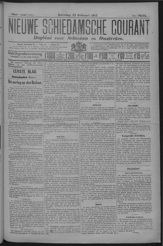 Nieuwe Schiedamsche Courant 1913-02-22