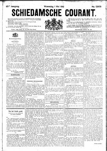 Schiedamsche Courant 1912-05-01