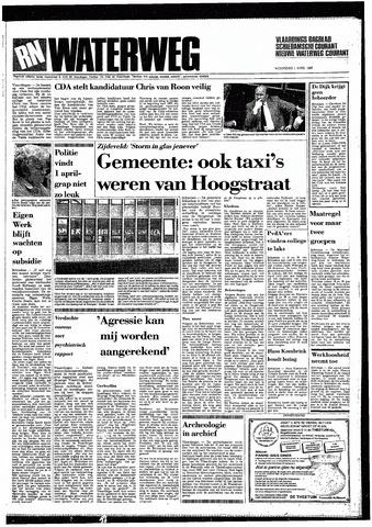 Rotterdamsch Nieuwsblad / Schiedamsche Courant / Rotterdams Dagblad / Waterweg / Algemeen Dagblad 1987-04-01