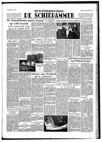 Rotterdamsch Parool / De Schiedammer 1949-11-12