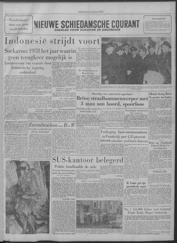 Nieuwe Schiedamsche Courant 1958-01-02