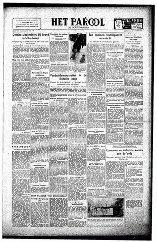 Rotterdamsch Parool / De Schiedammer 1947-03-29