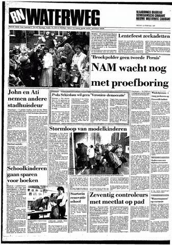 Rotterdamsch Nieuwsblad / Schiedamsche Courant / Rotterdams Dagblad / Waterweg / Algemeen Dagblad 1987-02-13