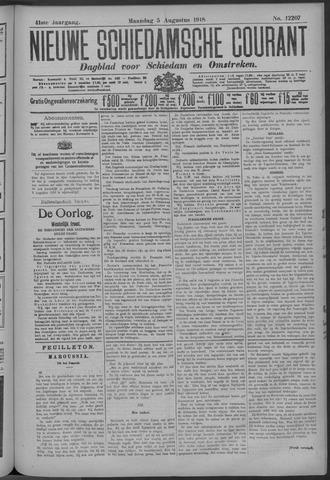 Nieuwe Schiedamsche Courant 1918-08-05