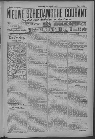 Nieuwe Schiedamsche Courant 1918-04-22