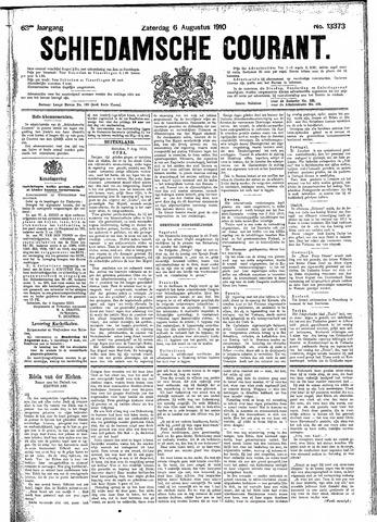 Schiedamsche Courant 1910-08-06