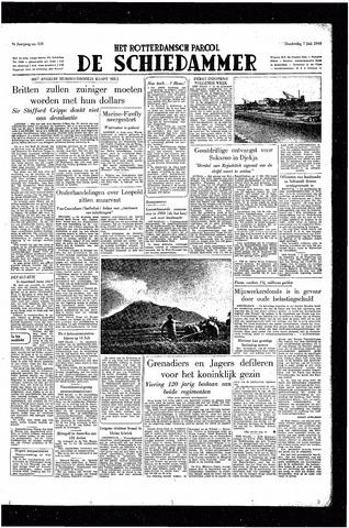 Rotterdamsch Parool / De Schiedammer 1949-07-07