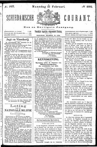 Schiedamsche Courant 1877-02-12