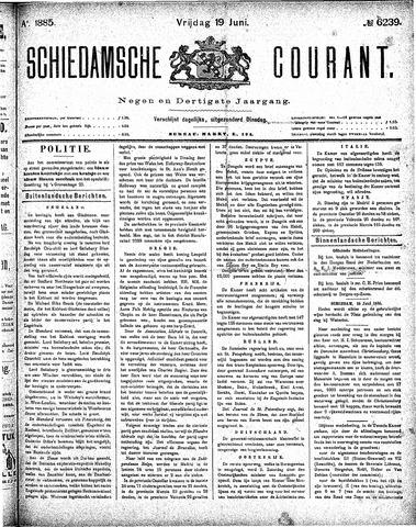 Schiedamsche Courant 1885-06-19