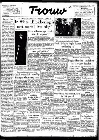Trouw / De Rotterdammer 1957-06-07