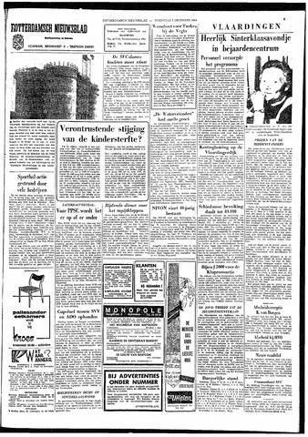 Rotterdamsch Nieuwsblad / Schiedamsche Courant / Rotterdams Dagblad / Waterweg / Algemeen Dagblad 1964-12-02