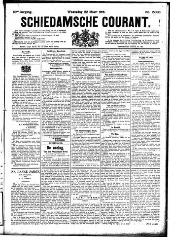 Schiedamsche Courant 1916-03-22